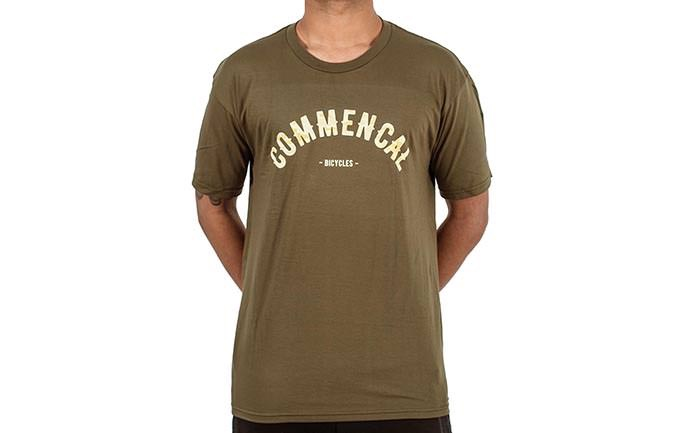 PLAYERA COLLEGE MILITARY GREEN 2018