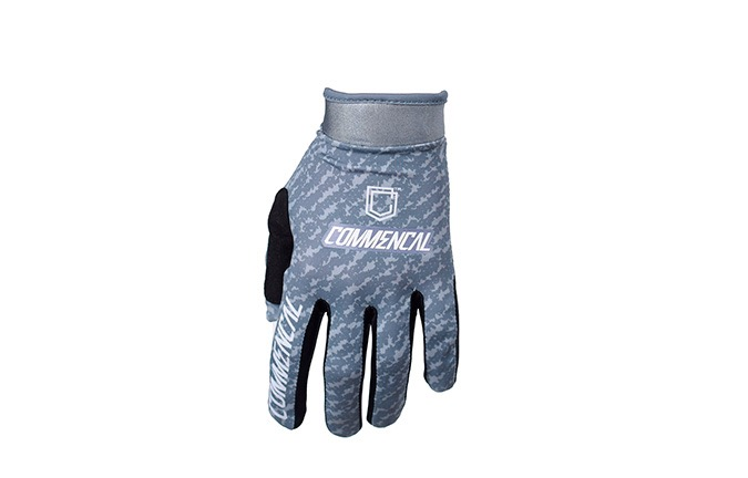 GUANTES COMMENCAL GRIS OSCURO