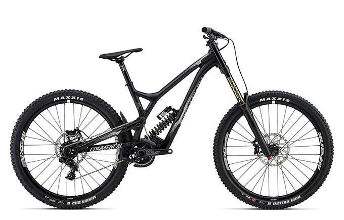SUPREME DH V4.2 RACE 650B BLACK