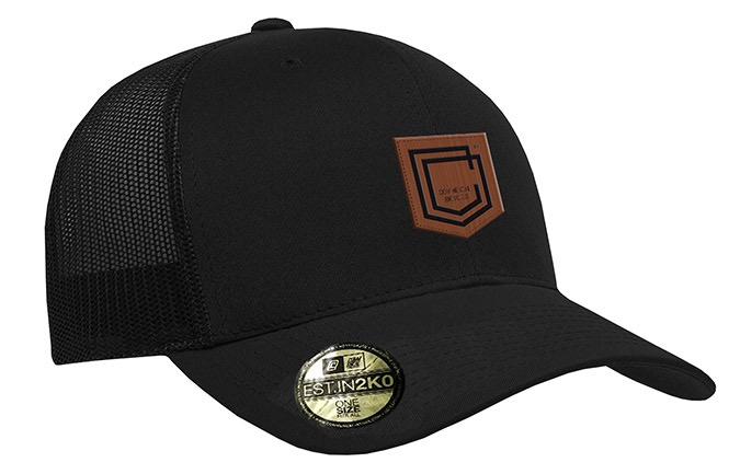 GORRA COMMENCAL TRUCKER VISERA CURVA SHIELD CUIR BLACK 2019