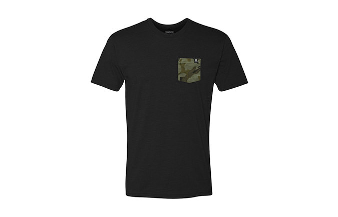 PLAYERA BASIC BLACK/CAMO 2018