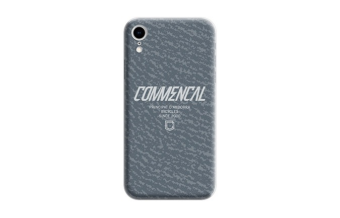 CARCASA COMMENCAL IPHONE XR GRISE