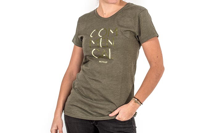 PLAYERA 3 LINES OLIVE GIRLY 2018